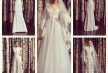 Wedding Style! / clothes ,wedding dresses ,fashion ,evening wear  / by Pincurls & Paint