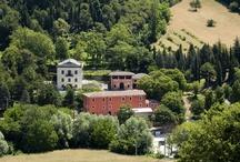 ABOVE 59 HEADQUARTERS / La ABOVE 59, proprietaria del marchio BREMA, ha scelto come sede un complesso di rilevanza storica  appartenuto, fin dal 1850, alla famiglia Miliani, fondatrice delle cartiere a Fabriano alla fine del '700.