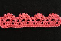crochet edges and borders