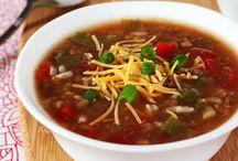 Soups n stews! / by J.W. Sanders