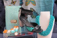 Shoes with Accessories / Mix and match your Minx footwear with our gorgeous jewellery, scarves and handbags/