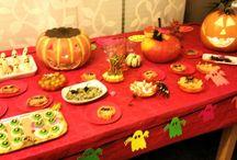Buffet d'Halloween / Soirée Halloween entre amis ... c'était monstrueusement bon ;-)