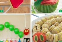 Very hungry caterpillar party/2years old girl