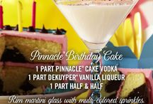 Pinnacle® Vodka Birthday Cake / It's always your birthday with Pinnacle® Vodka. The only vodka with over 40 playful flavors. A flavor for everyday of your birthday month!