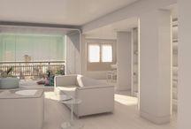 RESIDENCIAL 01_Vivienda en el Viso / Rehabilitación integral de vivienda situada en el barrio de El Viso de Madrid. Creación de mirador interior para potenciar las increíbles vistas.