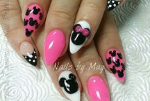 Nail designs / Almond designs