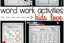 word work ideas