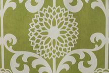 Retro design fabrics