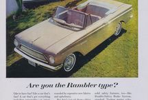 Rambler Car Ads / Vintage Rambler Automobile Advertisements