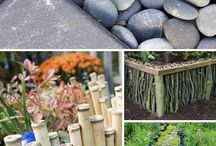 jardin y exterior para parcela