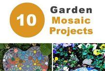 Garden mozaik