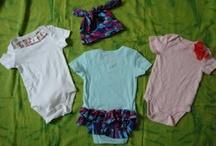 Bebe DIY clothes/crafts / by Tara Gooen