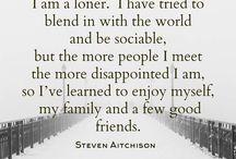 Yalnız olmak