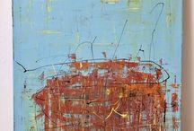 Nora Piti Abstract Art (My Art) / Contemporary modern abstract art