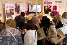 Beauty Trade Shows / The Eyelash Emporium often appears at beauty trade shows in the UK