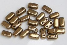CzechMates 2-Hole Brick Beads