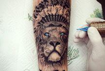 Tatto Leone