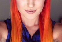 Hair - Orange/Yellow