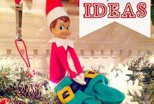 Elf on a Shelf ideas / Ideas to get me through all those Elf on the shelf days.