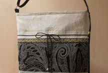 messenger bag with debin and lace
