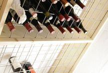 vinholder i tyndt stålwire net