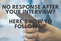 follow up interviews