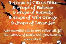 Roller Ball Recipes and Blends