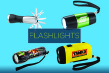 Promotional Flashlights / Brighten your brand and your customers' evening activities with these easy to grip, custom branded promotional flashlights. Whether it's for reading in bed, or camping outdoors, these flashlights allow your brand to lend a helping hand, and in turn, to increase your brand visibility.