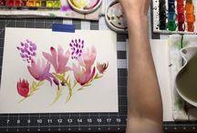 Watercolor Videos