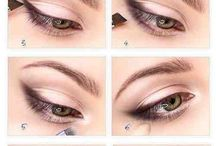Oči Oo / eye types and make up
