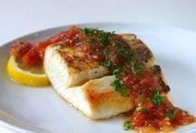 Italian recipes, fish,