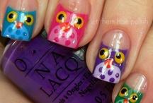 make up and nails / by Treasa Bastien
