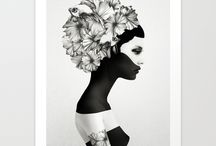 Society 6 picks / My favourite works from society 6, a place where art becomes more than piece on wall