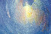 Engelen in de kunst / Tekeningen, schilderijen en beelden van engelen