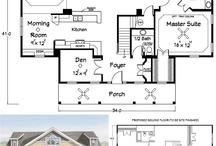 house plans / by Hannah Harlan