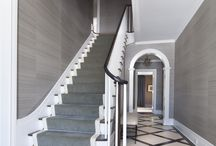Stairways- S.B. Long Interiors / Collection of Stairways designed by S.B. Long Interiors