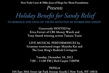 New York Charity Benefits / Charity benefits and charity happenings in nyc