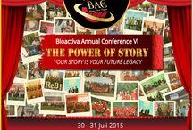 BAC VI / Bioactiva Annual Conference VI diadakan di Hotel Santika Gubeng, Surabaya pada tanggal 30-31 Agsutus 2015 / by BIOACTIVA JAMU TETES