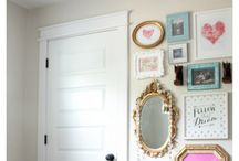 Cameron's Room / Vintage inspired decor for a teenage girl's room