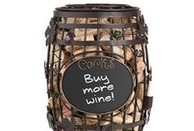 Upcycling Your Wine Corks / If you like to drink wine, you may as well save the corks. We're collecting ways for you to re-use your corks with crafting, making memories, or simply storing them until you have enough for a girls' craft night!