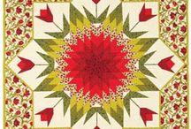 Tulip star quilt