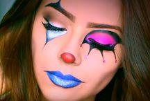 Maquillaje payasa