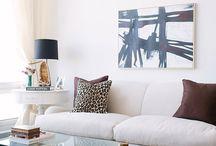 Ambientes de salón / Salones con personalidad, de todos los estilos.
