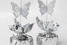 Wedding Decoration Supplies / Wholesale Wedding Day supplies. Confetti, sparkles, balloon weights, ribbon & much more.