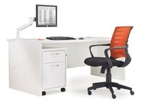 White Office Desks / We are the leading online retailer for modern white office desks, and have a wide range including the popular Maestro desks. If you need a large white office desk, or smaller versions with drawers then explore our website today. We stock the lowest prices and discounts compared to anywhere else online.