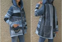 Upcycling jeans Kleidung