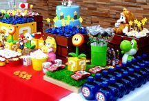 Aniversário: Mario Bros