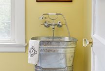 LAUNDRY ROOM IDEAS / by Janis Buffington