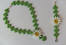 kwiaty do bransoletek