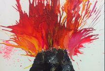 Project ideeën vulkanen